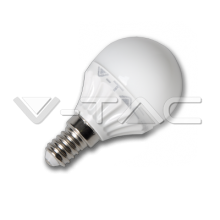 LED spuldze - LED Bulb - 4W E14 P45 Warm White